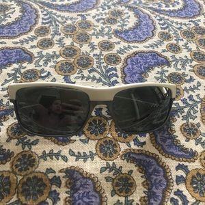 Oakley TwoFace White and Silver Sunglasses
